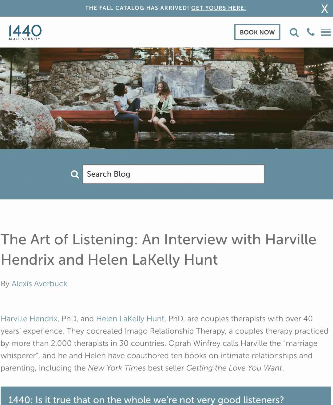 The Art of Listening Interview
